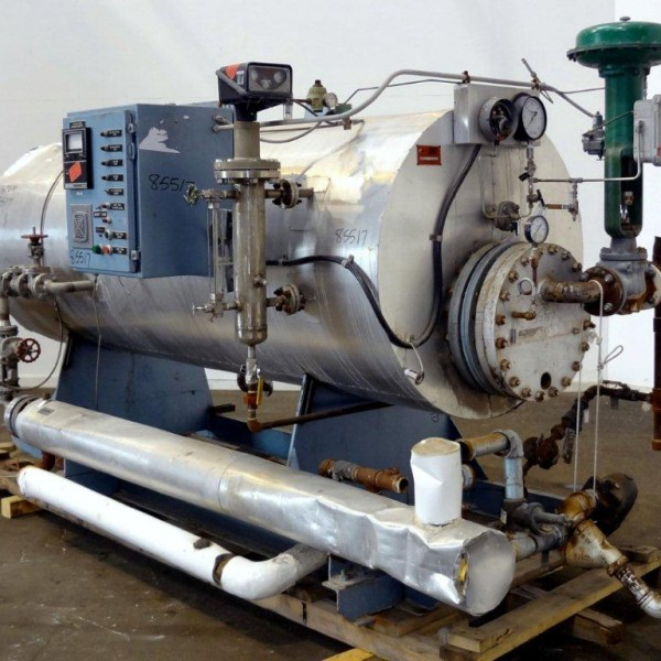 150 PSI Patterson Kelley Steam to Steam Generator