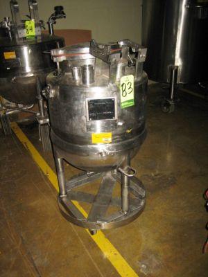 30 Gallon 40 PSI Jacket Kettle