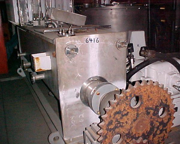 18″ X 10′ Bethlehem 316L Stainless Steel Porcupine Processor Vacuum Dryer