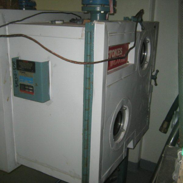 73 Sq. Foot, 8 Shelves Stokes Heresite Lined Vacuum Shelf Dryer