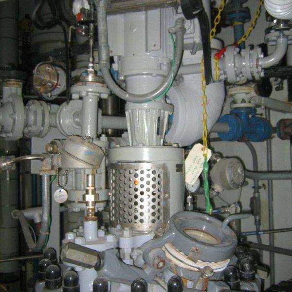 30 Gallon 150 Internal, 100 Jacket De Dietrich Glass Lined Reactor