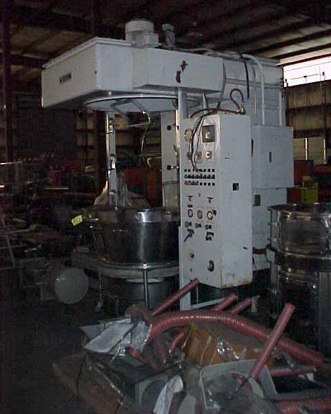 Glatt Model WSG60 220 Litre 304 Stainless Steel Batch Type Fluid Bed Dryer