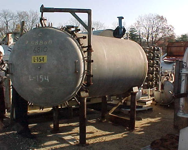 100 Sq. Foot, 600 Gallon, Sparkler Vertical Leaf, Horizontal Tank Pressure Leaf Filter