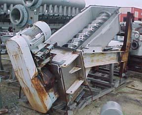 Black Clawson Model 1-B-16 Single Screw Hydradenser