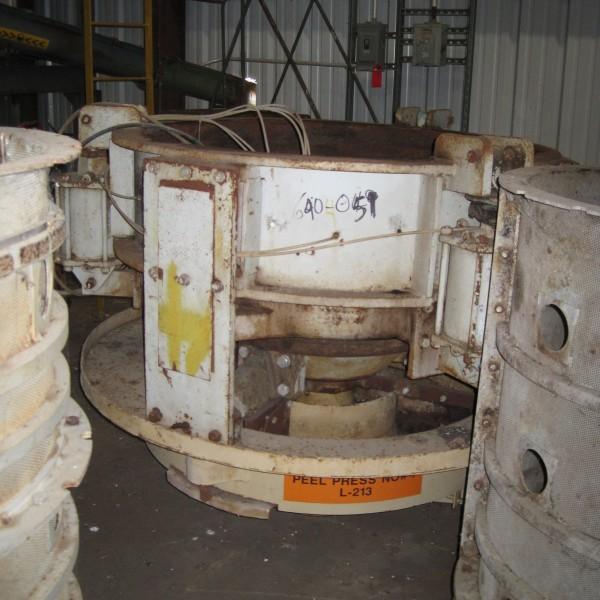 Gulf Machinery Company Carbon Steel Vertical Screw Press