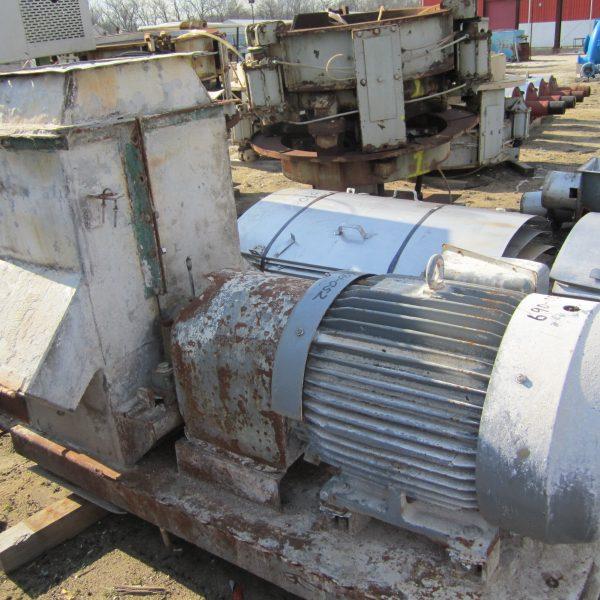 75 HP Carbon Steel Hammer Mill