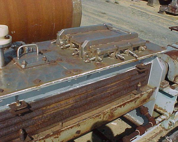 12″ X 7′ Bethlehem 316L Stainless Steel Porcupine Dryer