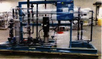 Nanofiltration Skid