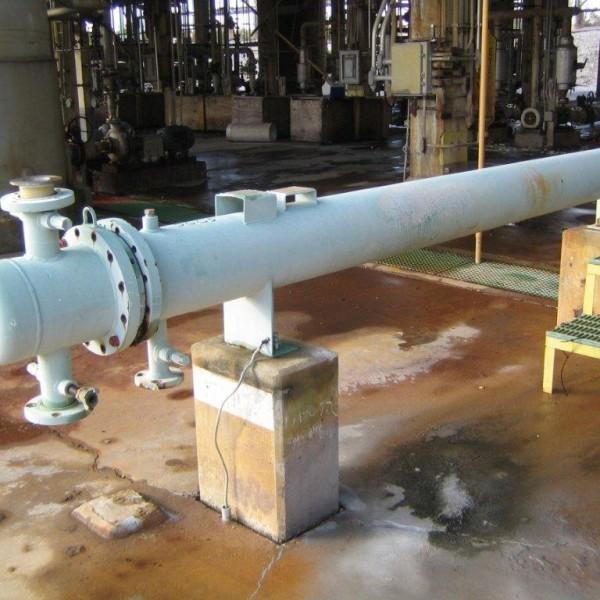 72 Sq. Ft. Killebrew Horizontal U-Tube Heat Exchanger Stainless Steel
