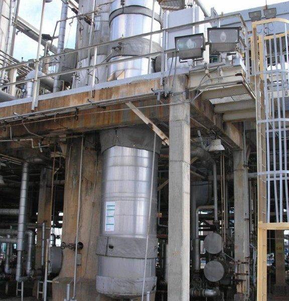 5115 Sq. Foot Killebrew Engineering Vertical Heat Exchanger