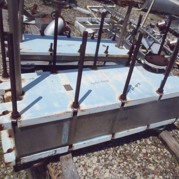 594 Sq. Ft. Accutherm Stainless Steel Plate and Frame Heat Exchanger