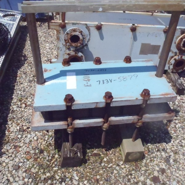 105 Sq. Ft. Alfa Laval Plate and Frame Heat Exchanger