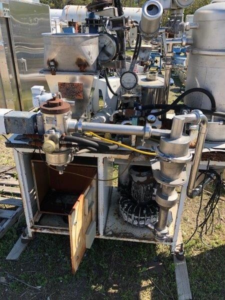 Alpine Model 100AFG Stainless Steel Fluidized Bed Opposed Jet Milling System