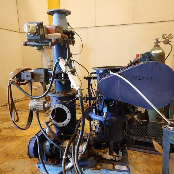 Alpine Model 200AFG Carbon Steel Fluidized Bed Opposed Jet Mill
