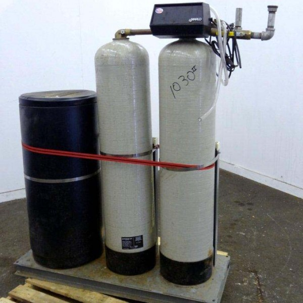 40/60 Min/Max KG Capacity Marlo Mdl MAT-60M-1 Twin Alternating Water Softener System