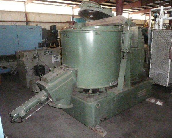 500 Liter Henschel Model FM500 Stainless Steel High Intensity Mixer