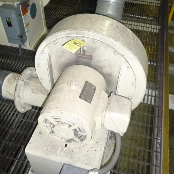 New York Blower Model 1708 Aluminum Pressure Blower