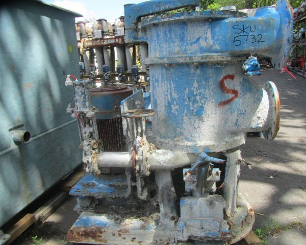 Black Clawson Model 24P Stainless Steel Pressure Screen