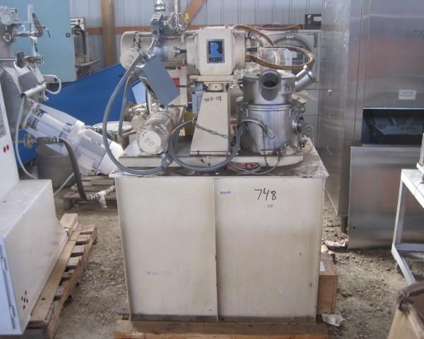 2 Gallon 1 HP Ross Stainless Steel Double Planetary Mixer