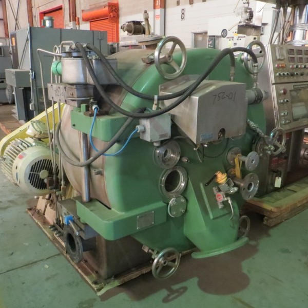 16″ Luwa-Heine Model 410 Pusher Centrifuge