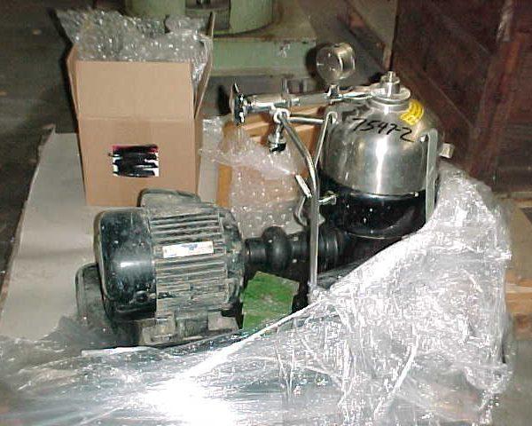 Westfalia Model KA2-06-175 Solid Bowl Centrifuge