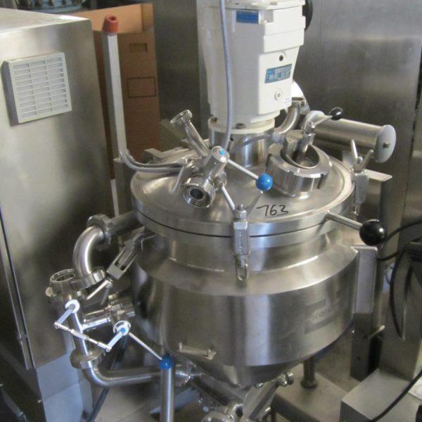 12 Gallon .37 KW Koruma Stainless Steel Mixer