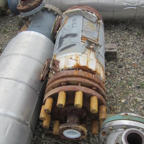 38 Sq. Ft. Graphite Vertical Heat Exchanger