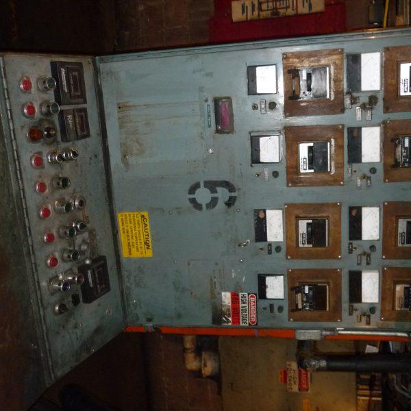 Gloucester Extruder Temperature Control Panel