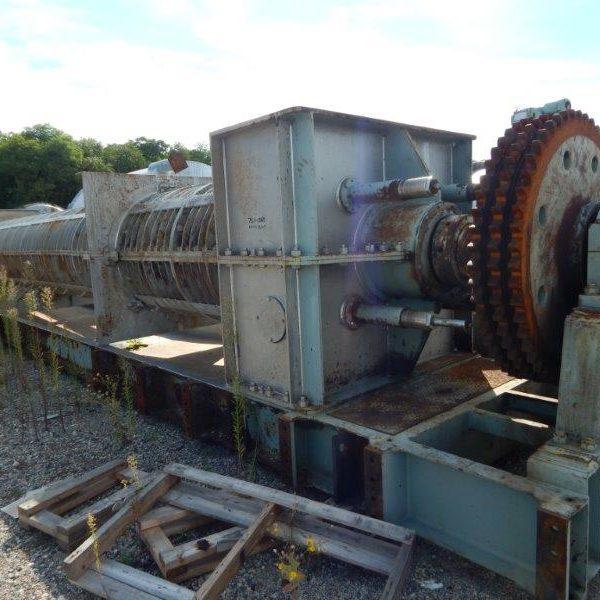 FKC Type SHX-1000 Screw Type Sludge Dewatering Press