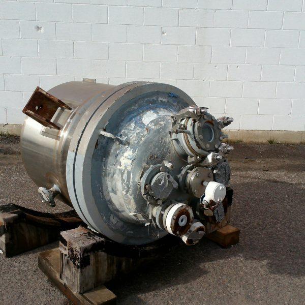 50 Gallon 150 FV Internal 100 Jacket Glass Lined Reactor