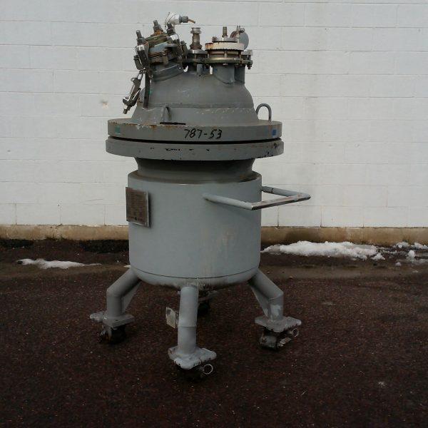 50 Gallon 150 FV Internal De Dietrich Glass Lined Bolted Top Tank