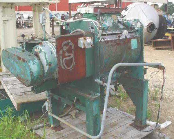 130 Liter Littleford Model FM-130-D Stainless Steel Intensive Mixer