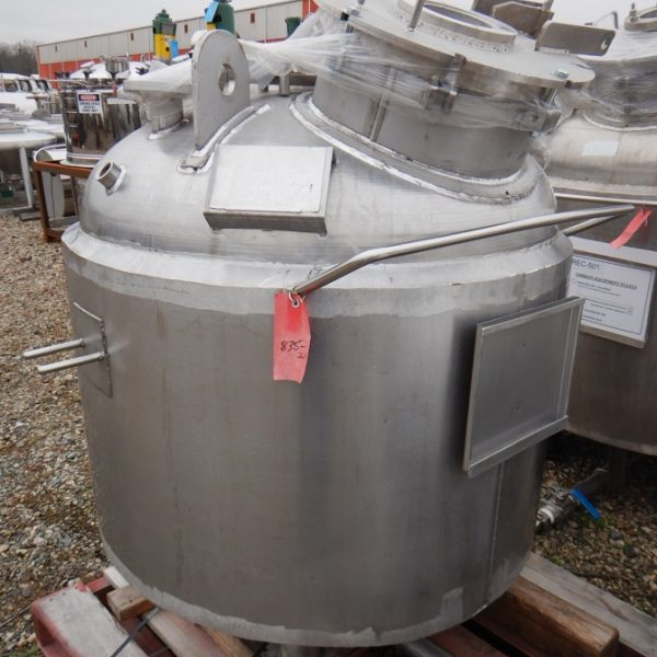 160 Gallon Stainless Steel Vertical  Vessel
