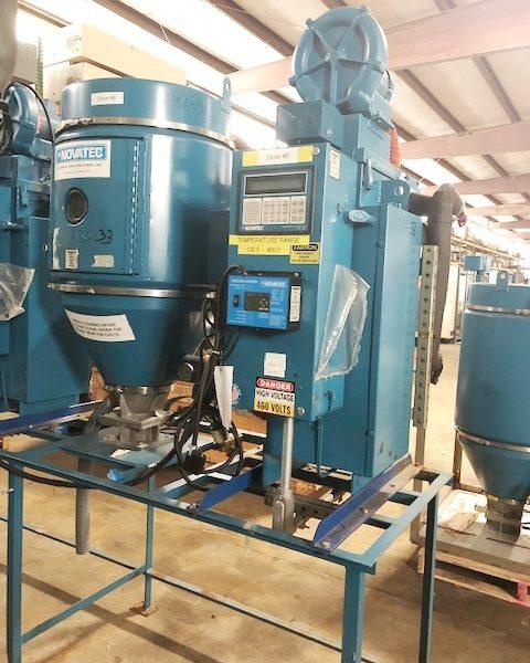 200 Lb. Novatech Mdl. MDM-50A High Heat Desiccant Dryer