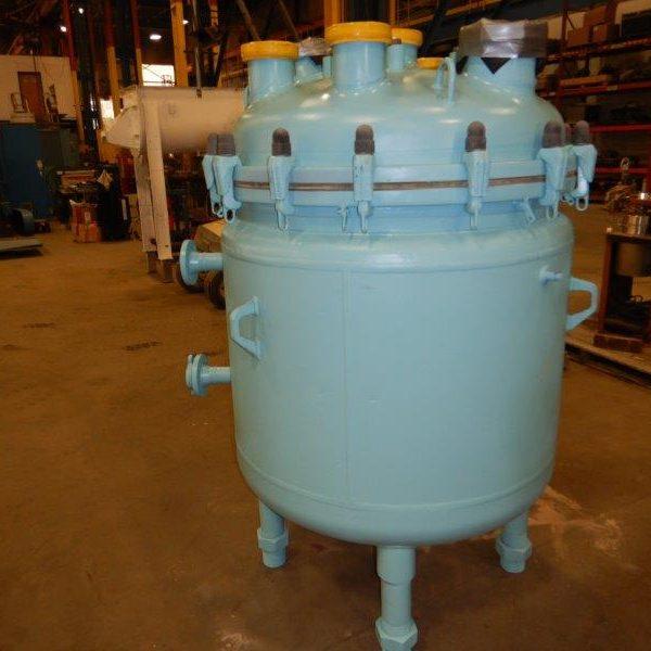 166 Gallon 87 FV Internal, 87 Jacket De Dietrich Glass Lined Reactor