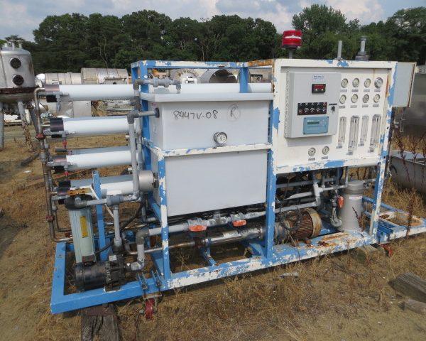 Res-Cem Corp. Double Pass Reverse Osmosis Membrane Filtration Unit