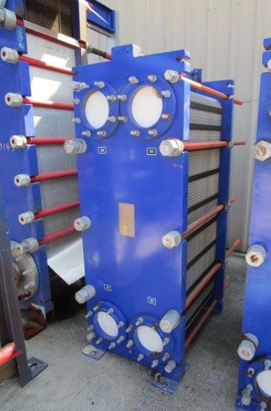 429 Sq. Ft. Alfa Laval Stainless Steel Plate Heat Exchanger Unused