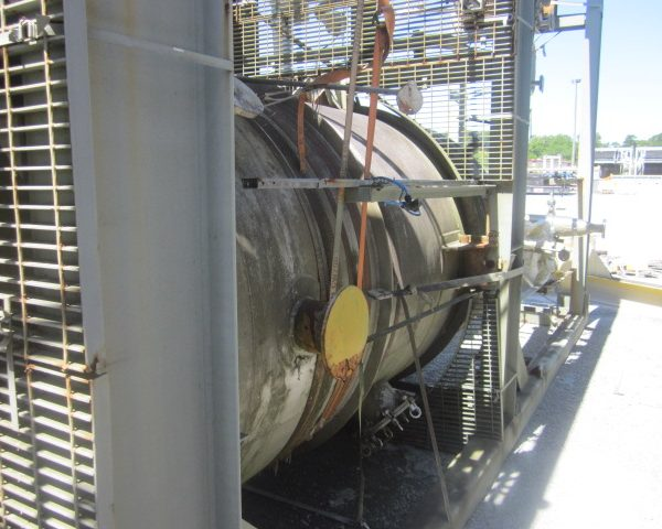 2,527 Gallon Praj Industries Vertical 304L Stainless Steel Pressure Vessel Unused