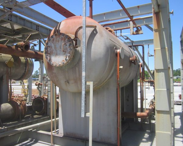 "2,527 Gallon 304L Carbon Steel Pressure Vessel, 5'11"" Dia. X 12′ Straight Side, Unused"