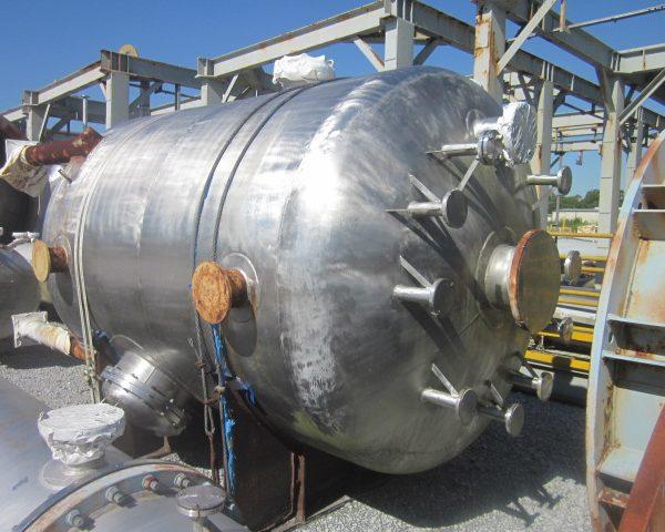 2,637 Gallon Praj Ind  304L Stainless Steel Pressure Vessel Unused