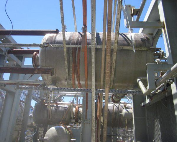 535 Gallon Praj Ind Vertical 304L Stainless Steel Pressure Vessel