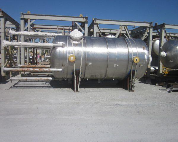 4,540 Gallon Praj Ind Vertical 304L Stainless Steel Pressure Vessel Unused