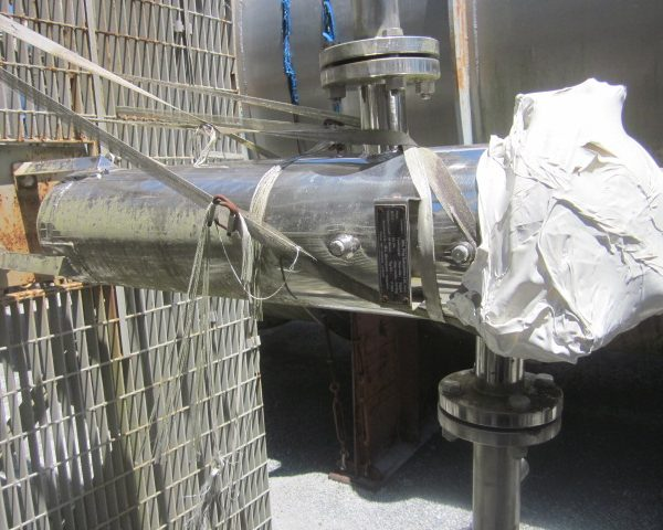 75 GPM Micropore Vertical Bag Filter Unused