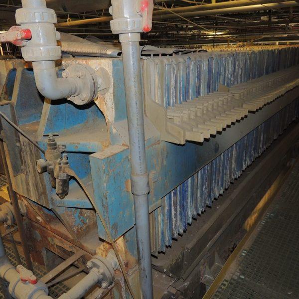 42″ X 42″ Sperry Polypropylene Filter Press