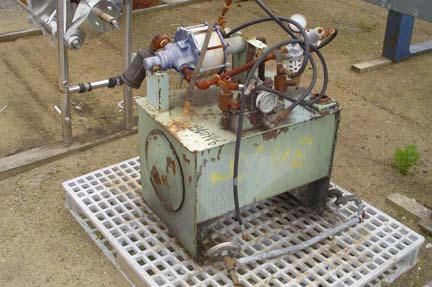 30″ X 30″ Hoesch Polypropylene Filter Press