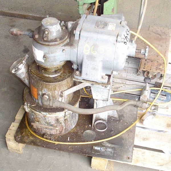 1 Gallon 3/4 HP Ross Stainless Steel Vacuum Double Planetary Mixer