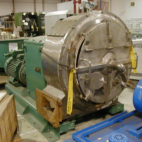 34″ Krauss Maffei SZ90C 3-Stage Pusher Centrifuge