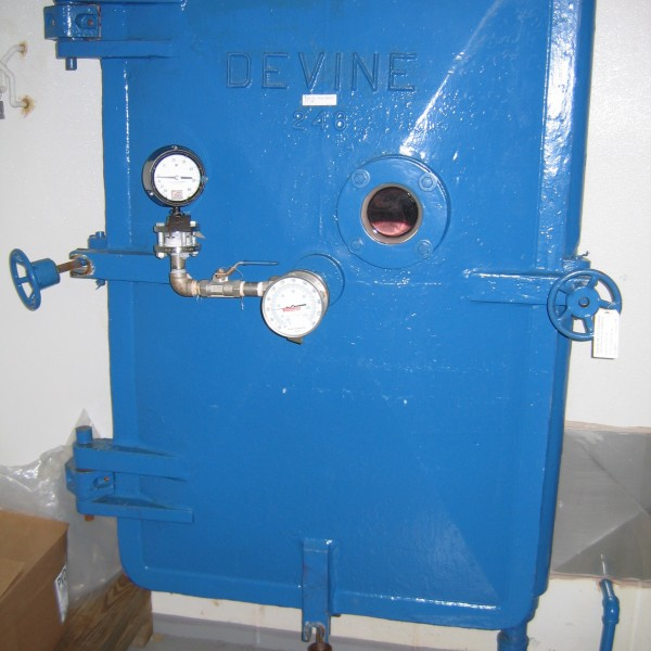 52 Sq. Foot, 16 Shelves Devine Carbon Steel Tray Dryer