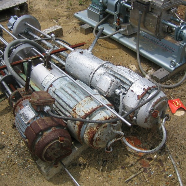 5 HP Stainless Steel Homogenizer Mixer