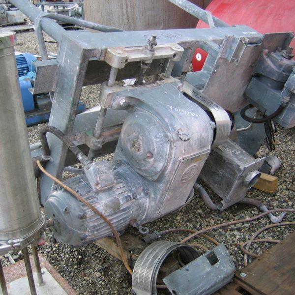 10 HP Stainless Steel Fitzpatrick Model D6 Comminuting Machine